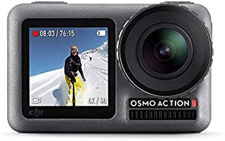 DJI OSMO Action Camera (Silver,Grey) | Dual Screen | 12 MP Camera | 4K Recording Upto 60 FPS | Fast Mode Upto 240 FPS |...