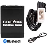 Electronicx Elec-M06-HON2F-BT Adattatore MP3, USB SD AUX vivavoce Bluetooth compatibile con Honda Goldwing GL1800 musica