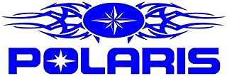 Polaris Tribal Decal Sticker - Peel and Stick Sticker Graphic - - Auto, Wall, Laptop, Cell, Truck Sticker for Windows, Cars, Trucks