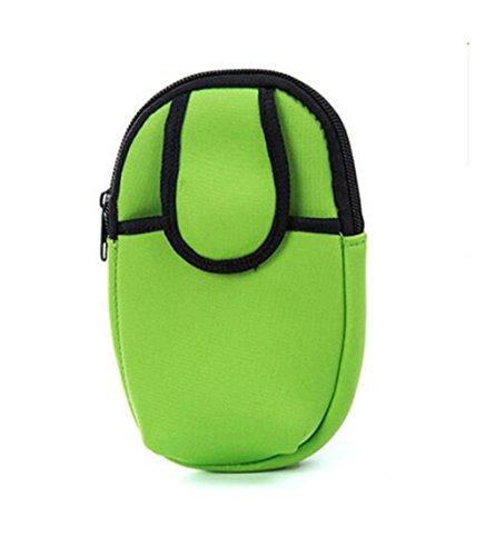 Demarkt Sport armtas telefoonhoes sport armband tas sportarmband hoes armtas bovenarm tas houder roze rood