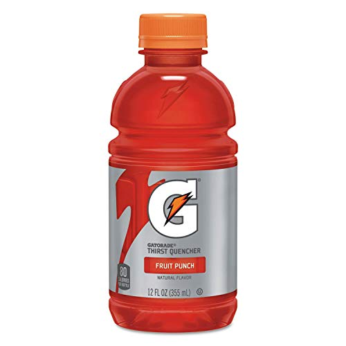 Gatorade Thirst Quencher, Fruit Punch, 20 Fl Oz (pack of 8)