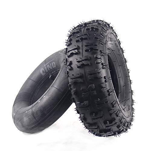 Neumáticos amortiguadores para Scooters eléctricos 4.10-4 Neumático Interior y Exterior para ATV Quad Go Kart 47cc 49cc Chunky 4.10-4 Neumático