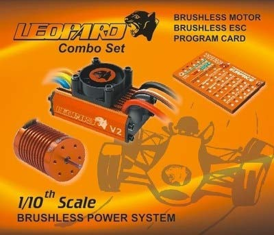 Save %47 Now! Part & Accessories SKYRC Leopard 60A ESC Brushless Motor 10T 3930KV Program Card 10T 12T 13T Motor Suitable for 1/10 RC Model Cars – (Color: ESC Motor card set)