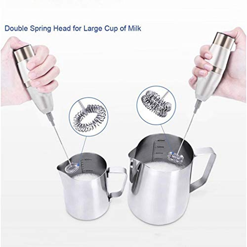 Kariwell Electric Hand Whisk Mixer, Kitchen Electric Hand Whisk Mixer Steel Coffee Milk Stainless Egg Beater