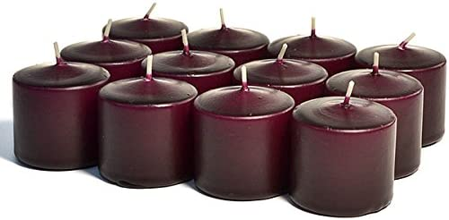 SNS 3 Boxes of Unscented No National products We Fragrance Plum Votive for Choice Candles