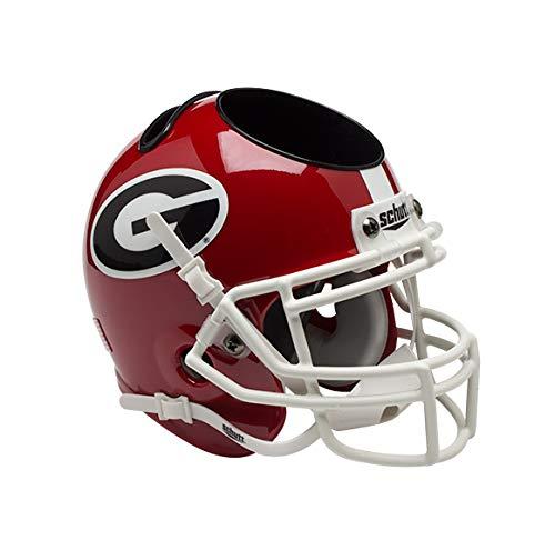 Schutt NCAA Schreibtischorganizer, Football-Helm, Unisex-Erwachsene, rot, Georgia Bulldogs