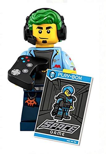 Mini Figur Lego Serie 19 #1 71025 Video Gamer
