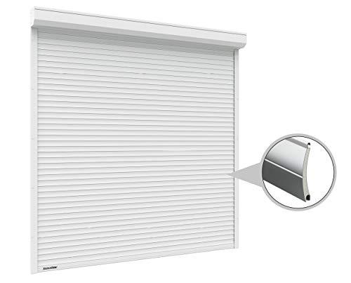 Doorhan Rolltor mit Optokit + Handsender | Breite 2400 mm | Höhe 2600 mm | Weiß