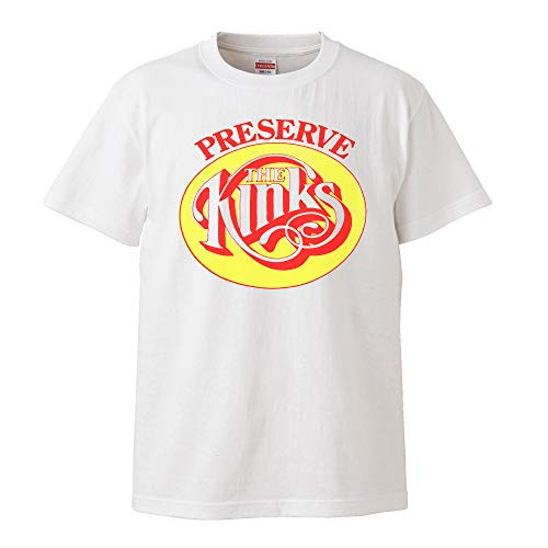 【The Kinks-キンクス/Preservation Act 1】CD LP レコード UKロック リプロダクト 5.6オンス Tシャツ/WH/ST- 436 (M)