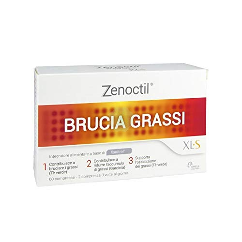 OFFERTA 3X XLS MEDICAL ZENOCTIL DA 60 - Integratore Brucia Grassi - 180 CPR
