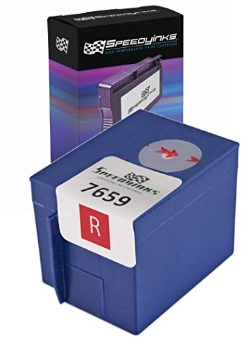 Speedy Inks Compatible Ink Cartridge Replacement for Pitney Bowes 765-9 (Red)