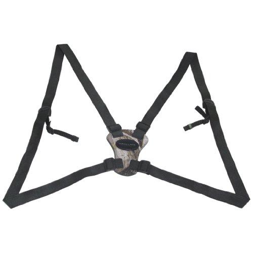 Vanguard Optic Guard Camo - Arnés para prismáticos cómodo y Ligero, Color marrón Oscuro
