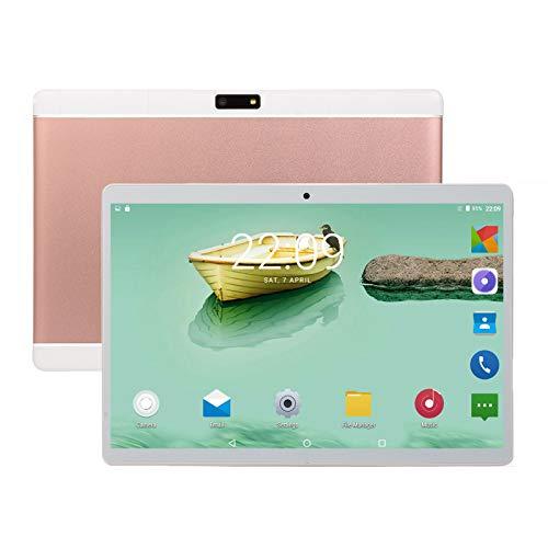 Tableta de 10 Pulgadas, Phablet PC 3G, 1 + 16GB, Tabletas Android 8.0 con Dos Ranuras para Tarjetas SIM Cámara Dual y Tableta para Niños con Relación de Resolución HD 1960 * 1080,Rose