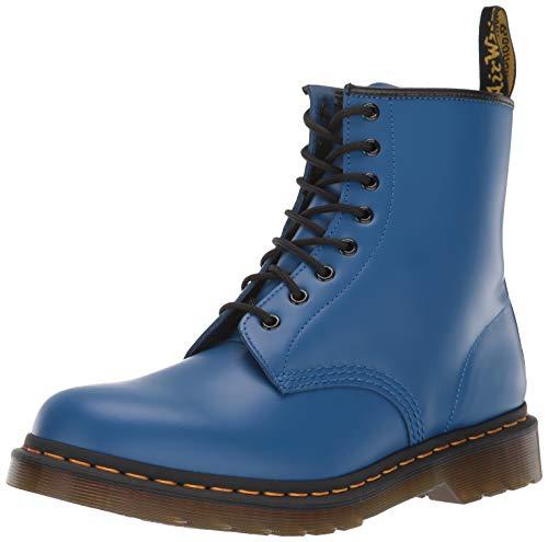 Unisex volwassenen Dr Martens 1460 Gladde kleuren Pop Closed Toe Fashion Laarzen - Blauw - 44