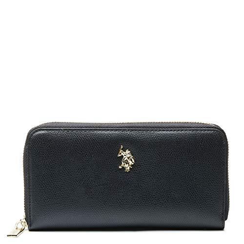 U.S. POLO ASSN. L Zip Around Wallet Jones L Zip Around Wallet Black