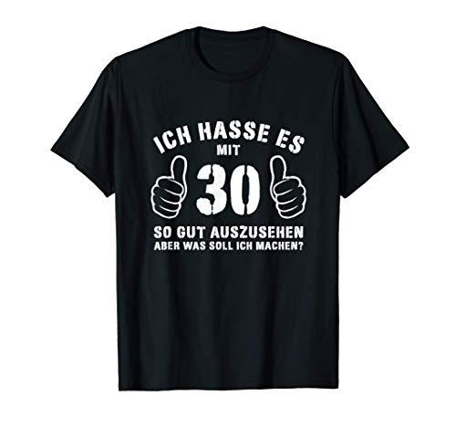 30. Geburtstag Geschenkidee Frau Mann Jahrgang 1991 Geschenk T-Shirt