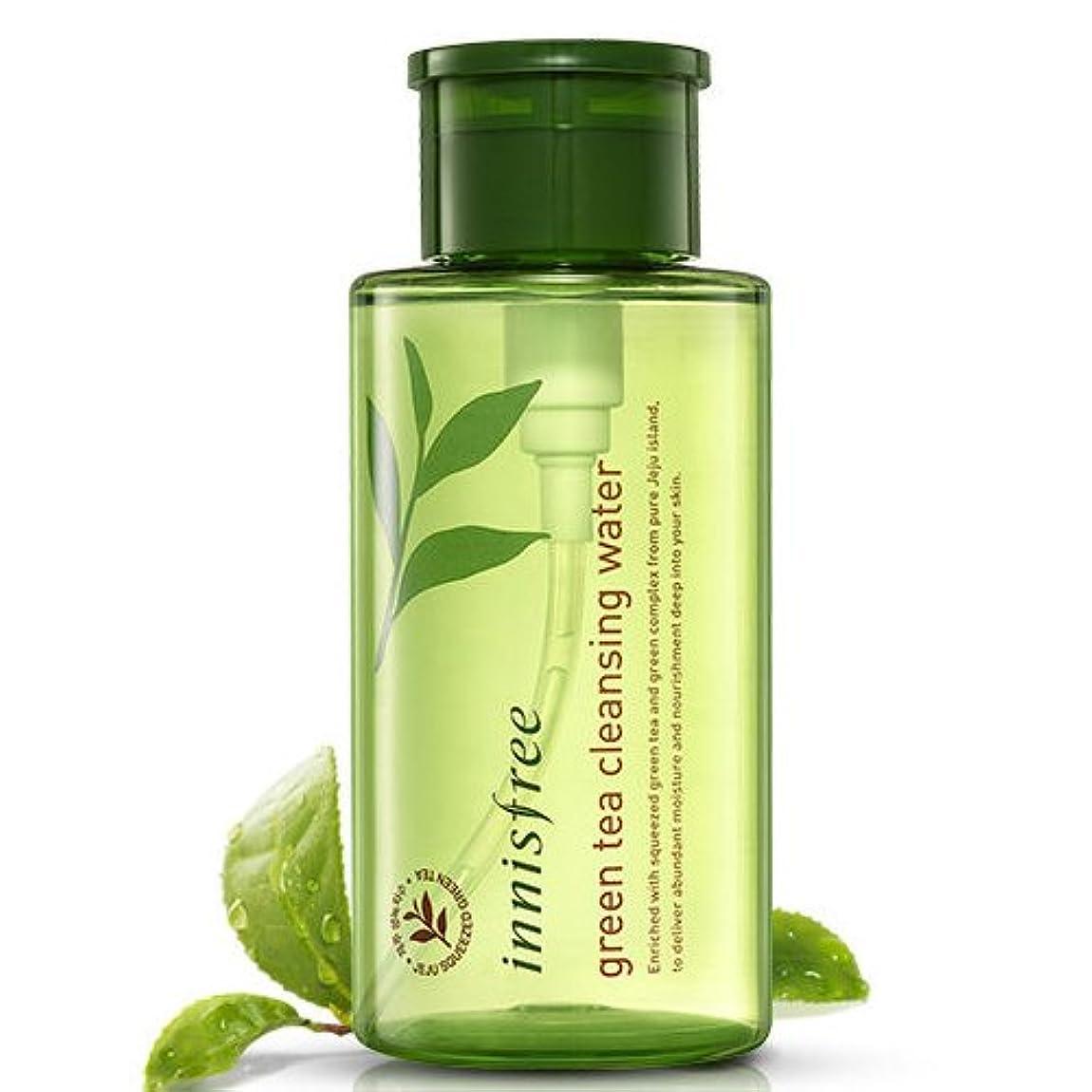 リールサーキュレーション潤滑する[INNISFREE]イニスフリーグリーンティークレンジングウォーター 300ml innisfree green tea cleansing water 300ml[並行輸入品]