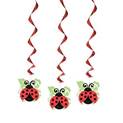 Hanging Ladybug Party Decorations