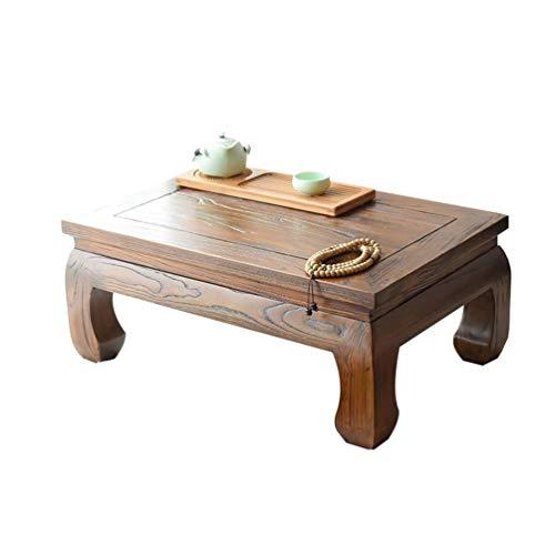 Mesa de centro Olmo viejo olmo ventanas y tablas simples de mesa de café retro imitación unas pocas mesas de cama kang pequeña mesa de centro mesa de centro de kung fu de mesa mesas de café Tablas de