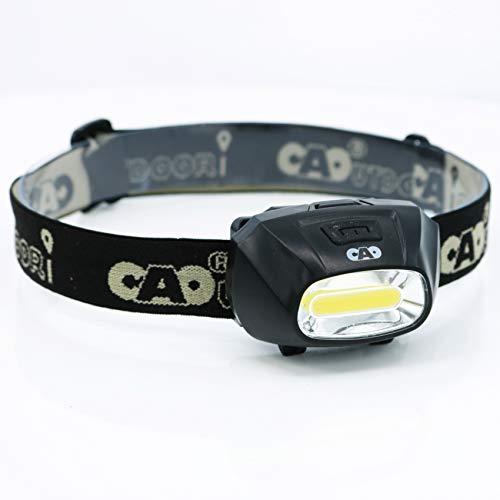 Cao Lampe Frontale Spectre Camping, Noir, 7 x 3,2 x 4,3 cm