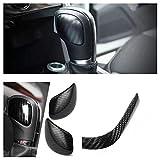 FFZ Parts DSG Schaltknauf Blende Rahmen Abdeckung Carbon Optik Passend Für Polo Golf 6 7 Tiguan AD1 T-ROC T-Cross Scirocco Passat B8 T Für