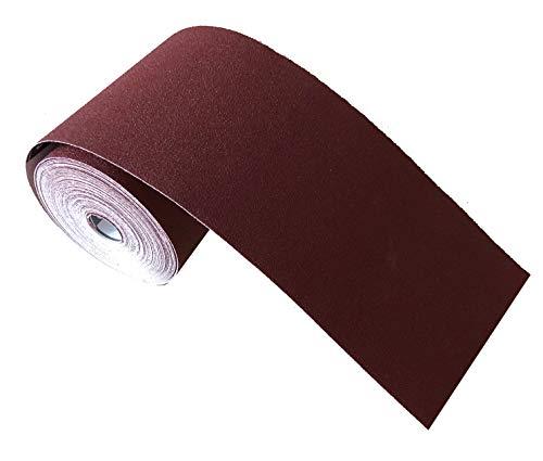 Schleifpapier-Rolle – für Metall und Holz, 115 mm x 10 m, Korn 80, Korund