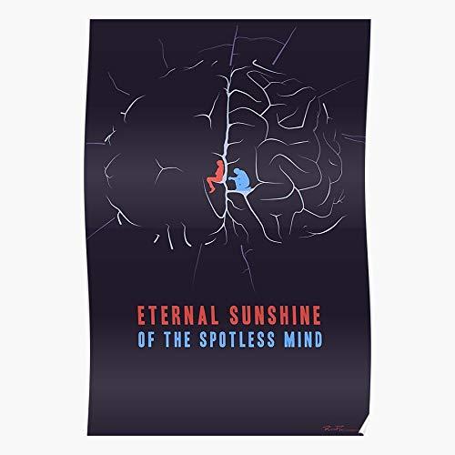 Sunshine Mind Minimalist Of Minimal Spotless Movie Fan The Fanart Art Eternal Regalo para la decoración del hogar Wall Art Print Poster 11.7 x 16.5 inch