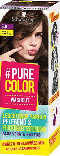 Pure Color Washout 5.0 Schoko-Brownie Stufe 1, 1er Pack (1 x 60 ml)