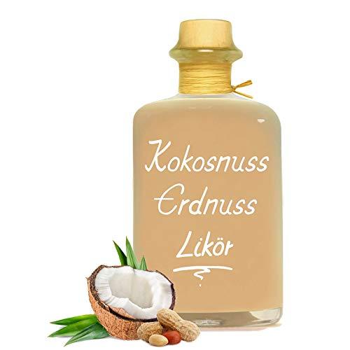 Kokosnuss Erdnuss Likör 0,5L Karibische Versuchung aus Kokos Erdnuss & Rum 16% Vol.