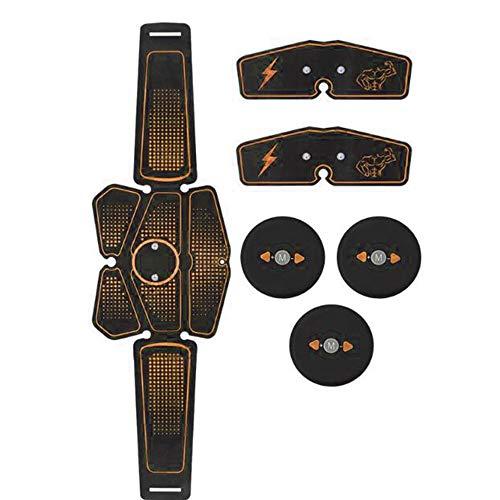 PiAEK Elettrostimolatore per Addominali,Elettrostimolatore Muscolare Professionale, Stimolatore Muscolare 2 in 1 Massager