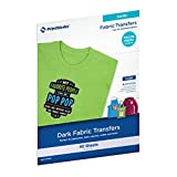 "Printworks Dark T-Shirt Transfers for Inkjet Printers, for Use on Dark and Light/White Fabrics, Photo Quality Prints, 40 Sheets, 8 ½"" x 11"" (00529C)"