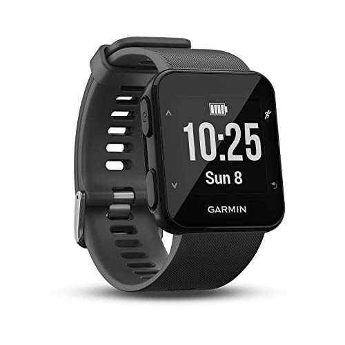Garmin Forerunner 30 GPS-Laufuhr, Herzfrequenzmessung am Handgelenk, Smart Notifications, Connected Features, Lauffunktionen, 010-01930-03