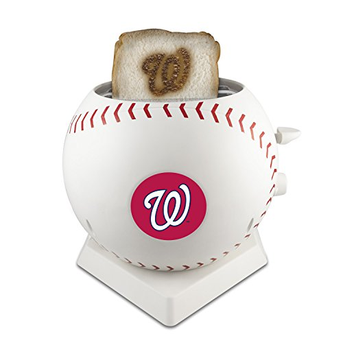 MLB Washington Nationals Pangea Brands ProToast MVP Toaster, White