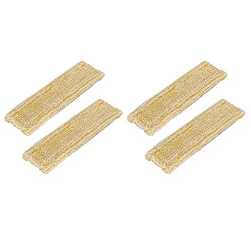 Uniquk PaaO de Fibra para Fregona Karcher WV2 WV5, MáQuina de Limpieza de Ventanas para Accesorios de Limpieza del Hogar, Limpieza de Vidrio, 4 Piezas