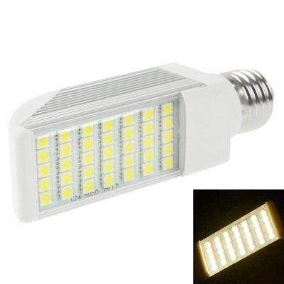 SGJFZD E27 8W Blanco cálido 35 LED 5050 LED Bombilla LED SMD Bombilla de Enchufe Horizontal, AC 85V-265V (SKU : S-LED-6200WW)
