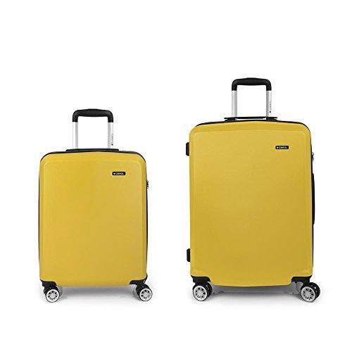 Set 2 Maletas C22-M Gabol Mondrian Amarillo