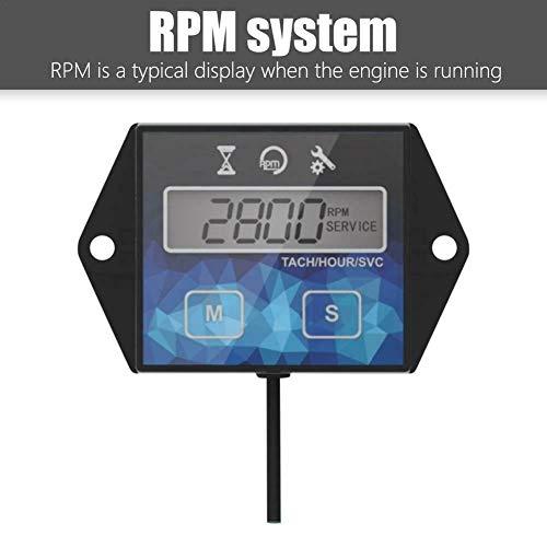 OutingStarcase Agua moto velocidad de metros   temporizador hora es monitorización de tacómetro de reposición