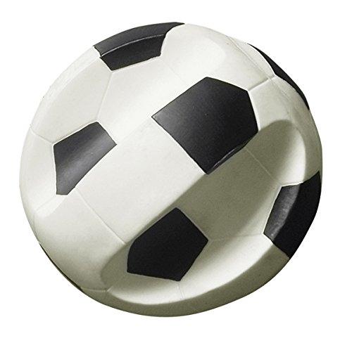 Gor Pets Glitschiges Fußball-Spielzeug für Hunde, Vinyl