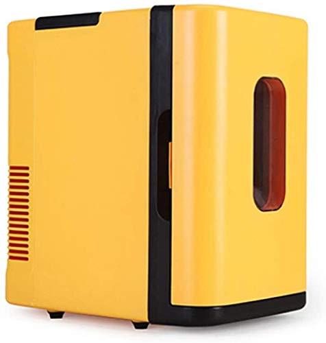 YYhkeby Mini Nevera con congelador Vintage Lindo al Aire Libre Mini Nevera...
