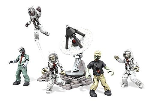 Mega Bloks - Horda de Zombies en la Luna, Call of Duty, Juego de construcción (Mattel DMT52)