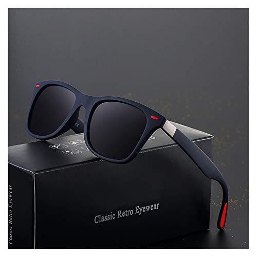 QQGGTongFeng Clásico Diseño de Marca Gafas de Sol polarizadas Hombres Mujeres Driver Shades Hombre Vintage Gafas de Sol Hombres Espejo Verano UV400O para Exterior (Lenses Color : C9)