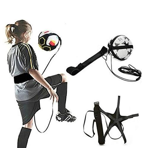 Domybest trainingsgordel voor voetbal, nylon, verstelbaar, voetbaltrainer, trainingsuitrusting, accessoires