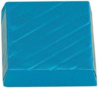 Paquete de 10 chocolates azules.
