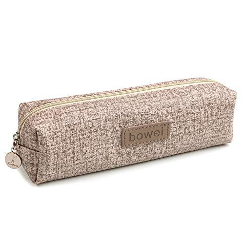 Pencil Pouch Faux Leather Texture - Pencil Bag Student Pencil Case - Zipper Pencil Case School Organizer - Coin Pouch Small Pen Pouch