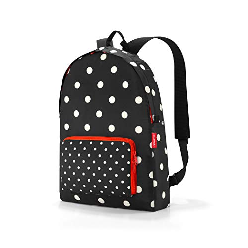 Reisenthel mini maxi rucksack mixed dots Zaino Casual 45 centimeters 14 Nero (Mixed Dots)