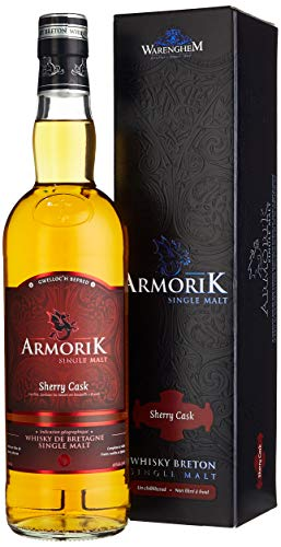 Armorik Whisky Breton Single Malt SHERRY CASK + GB 46% Vol. 0,7 l