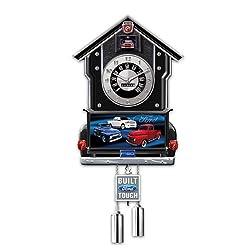 The Bradford Exchange Cuckoo Clock: Ford F-Series Cuckoo Clock