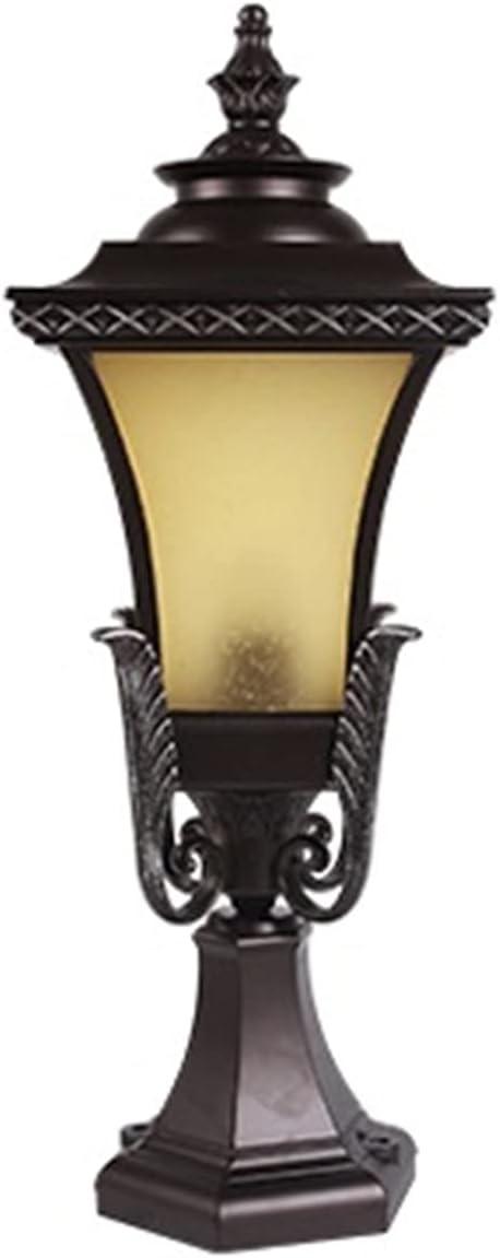 New sales ZZYJYALG Traditional Victoria E27 Superlatite Vintage Glass Lig Outdoor Post