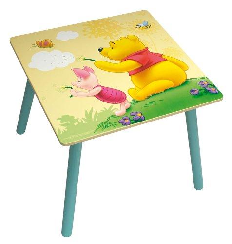 Jemini - 711435 - Ameublement et Décoration - Table Carrée en Bois - Winnie the Pooh