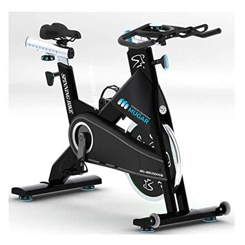 Mugar - Bicicleta Spinning Ciclo Indoor Profesional, MG-600. Disco Inercia 22 kgs, Fitness, Cardiovascular, Ciclismo, hogar, Gimnasio, Entrena